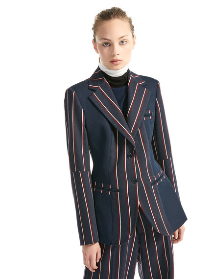 Tailored Pinstripe Jacket Sportmax