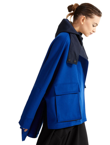 Two-tone Wool Parka Sportmax