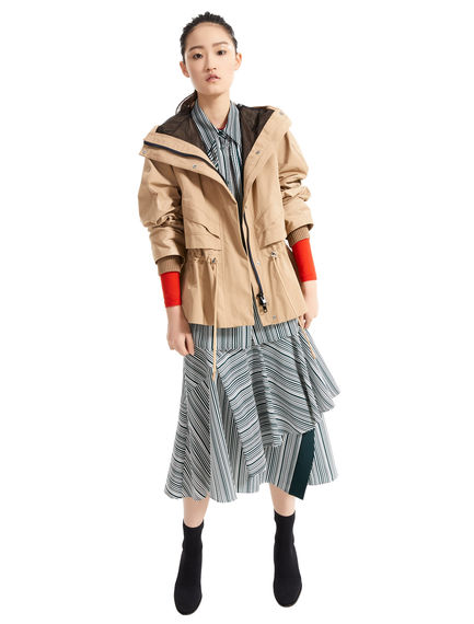 Transforming Technical Parka Jacket