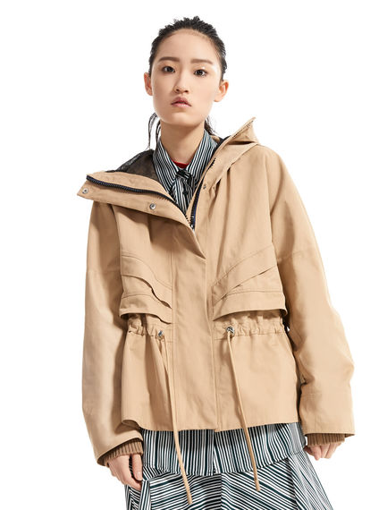 Transforming Technical Parka Jacket Sportmax