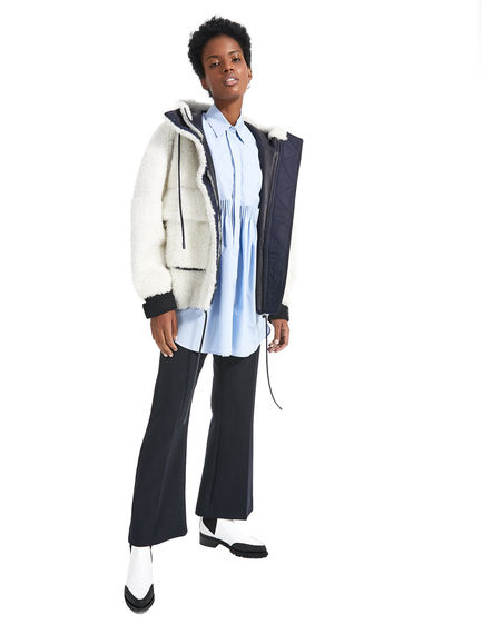Camicia oversize trasformabile