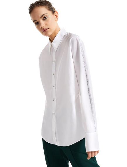 Contrast Stitch Poplin Shirt Sportmax