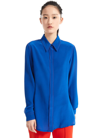 Sartorial Silk Blouse Sportmax