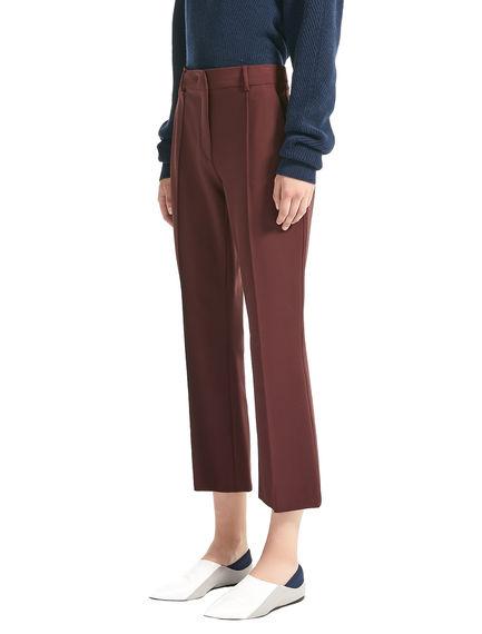 Pantaloni cropped sartoriali