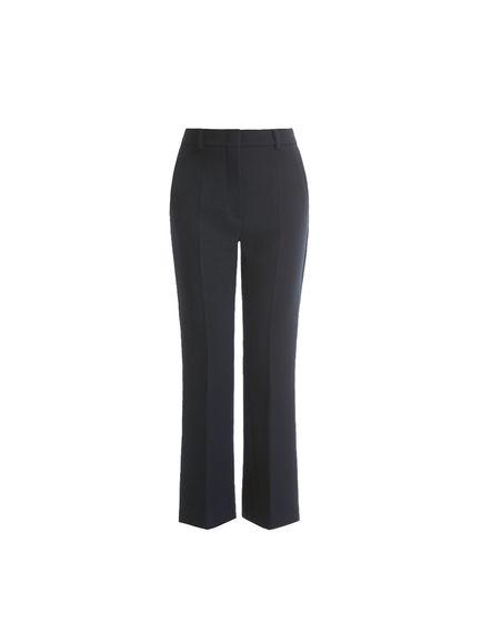 Zip-side Wide Leg Trousers