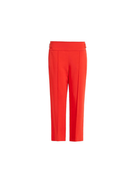 Low-waisted Cropped Trousers