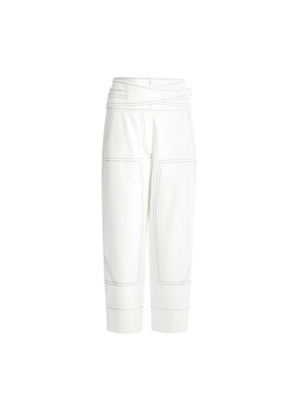 Engineered Cotton Workwear Trousers