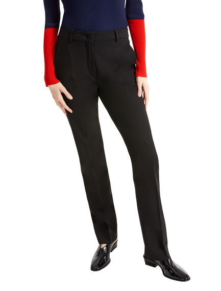 Twill Cigarette Trousers Sportmax