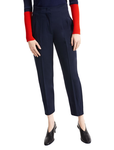 Tailored Carrot Leg Wool Trousers Sportmax