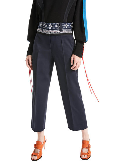 Nordic Waist Cropped Trousers Sportmax