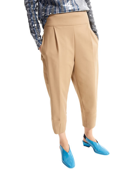 Cuffed Carrot Leg Trousers Sportmax