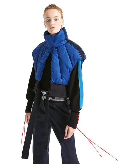 Directional Cropped & Padded Gilet Sportmax