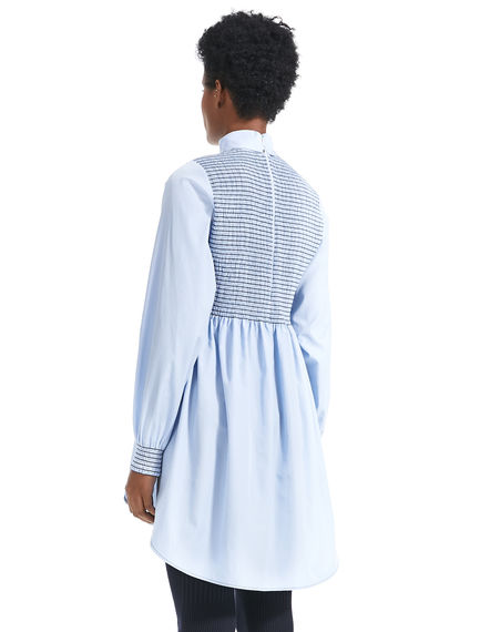 Smocked Tunic Dress