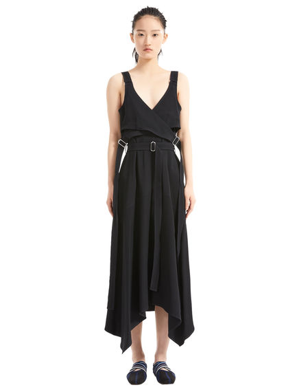 Ribbon Strap Bodice Dress