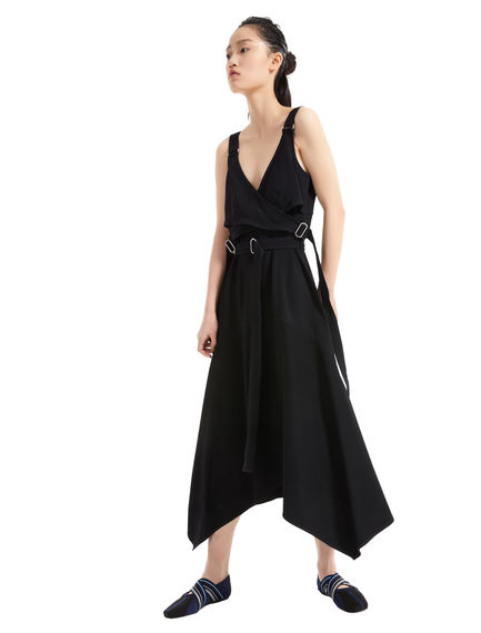 Ribbon Strap Bodice Dress Sportmax