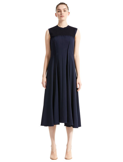 Layered Bustier Wool Dress Sportmax