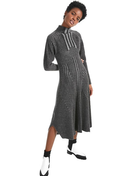 Geometric Knitted Dress Sportmax