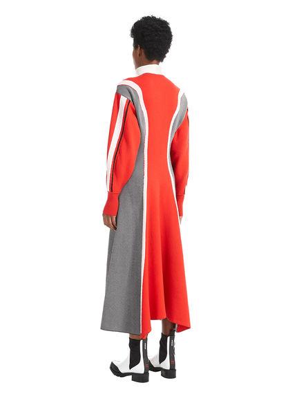 Contrast Colour Knit Dress
