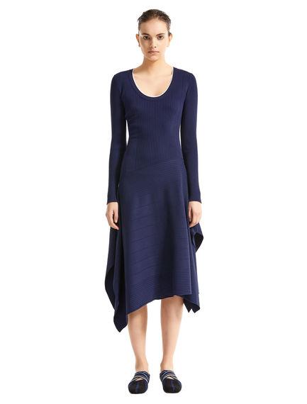 Handkerchief Skirt Knitted Dress