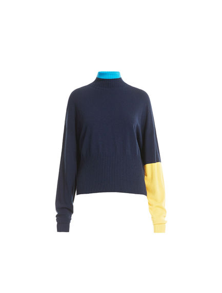 Colour-block Oversize Sweater