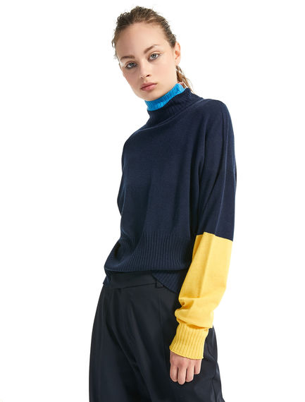 Colour-block Oversize Sweater Sportmax