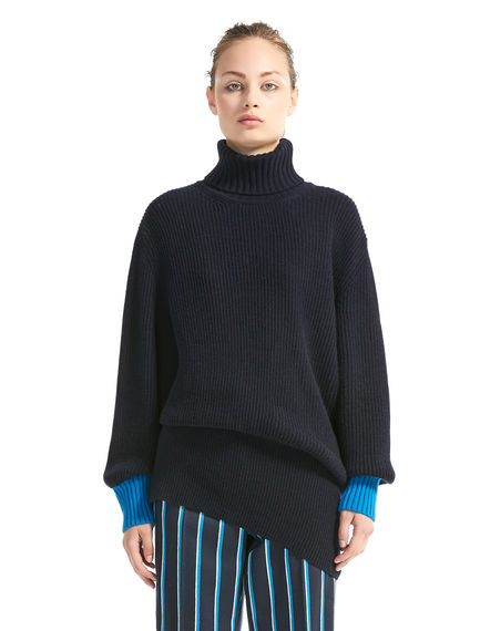 Asymmetric Cashmere Sweater