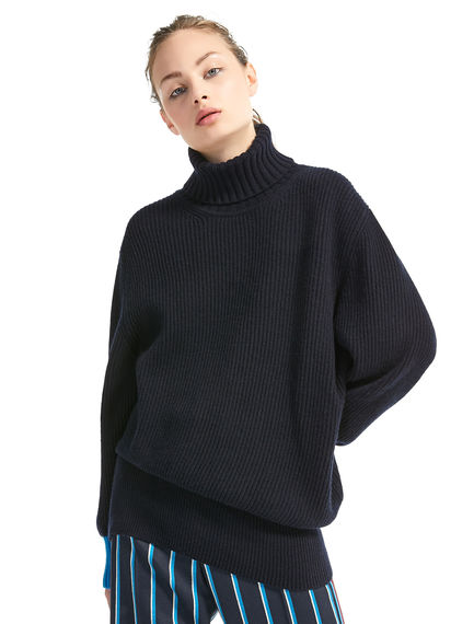 Asymmetric Cashmere Sweater Sportmax