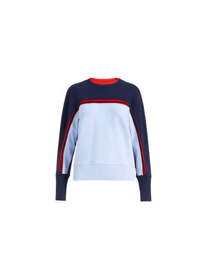 Viscose & Wool Kimono Sleeve Sweater