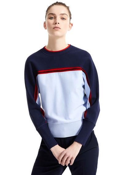 Viscose & Wool Kimono Sleeve Sweater Sportmax
