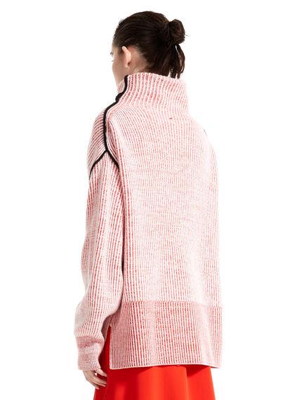 Maglione in cachemire con collo alto
