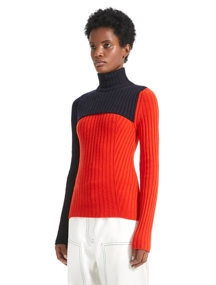 Double Layer Cashmere Sweater