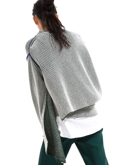 Deconstructed Chunky Cashmere Sweater Sportmax