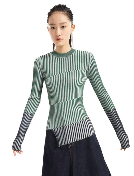 Graphic Knit Sweater Sportmax