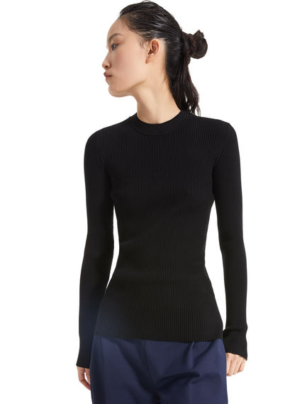 Colour-block Viscose Sweater Sportmax