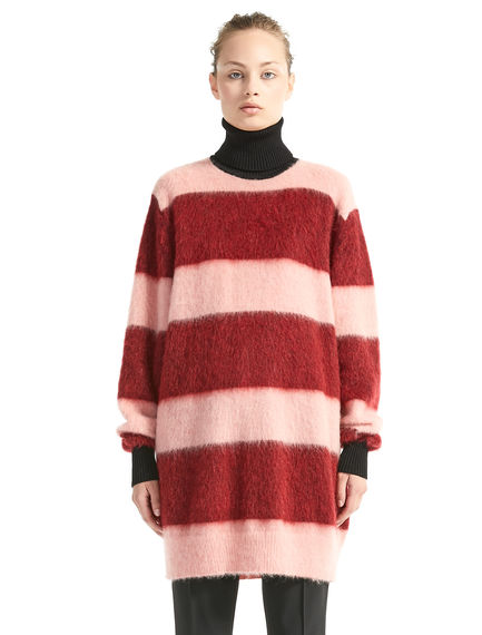 Maxi Stripe Mohair Sweater Dress