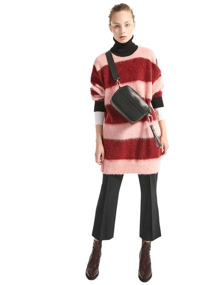 Maxi Stripe Mohair Sweater Dress