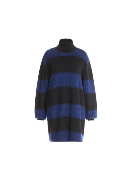 Maxi Stripe Mohair Sweater Dress Sportmax