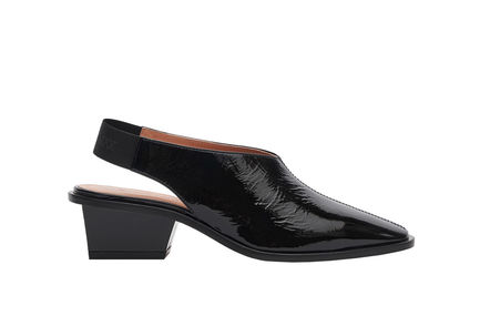 Naplak Leather Slingbacks