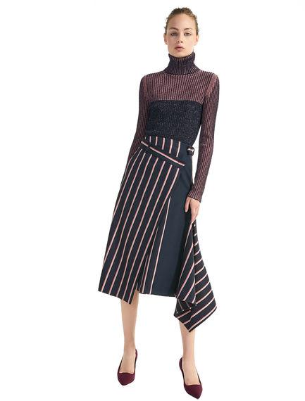 Contrast Knit Stilettos