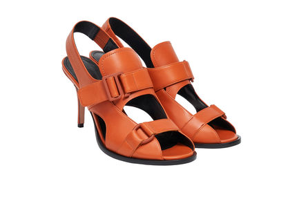 Buckled Stiletto Sandals
