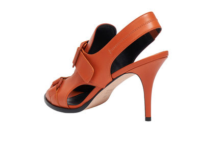 Buckled Stiletto Sandals