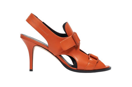 Buckled Stiletto Sandals Sportmax