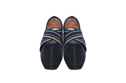 Athletic Jacquard Knit Ballerina Flats