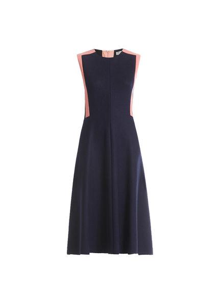 Wool Jersey Sleeveless Dress