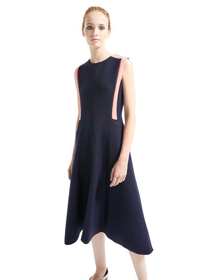 Wool Jersey Sleeveless Dress Sportmax