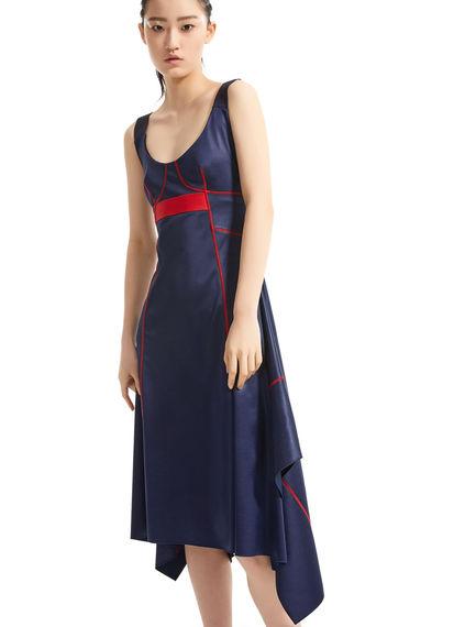 Glossy Jersey Handkerchief Dress Sportmax