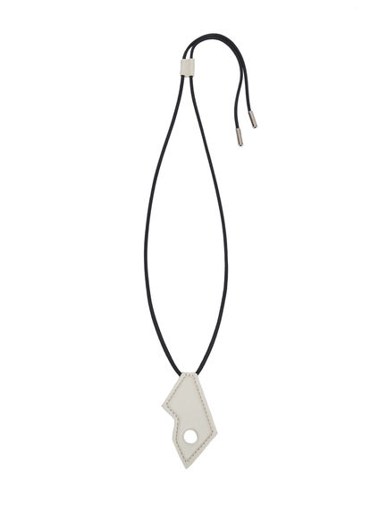 Double-function Nappa Pendant Necklace