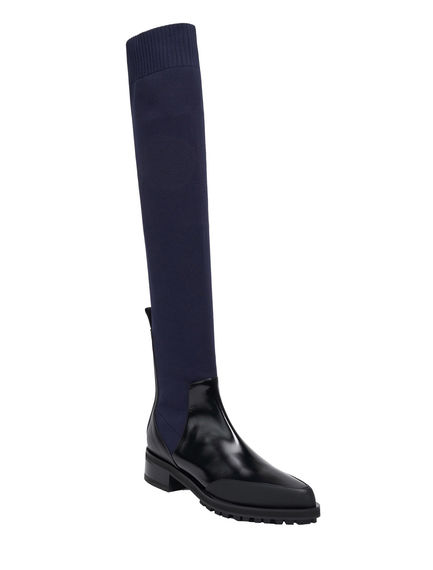 Over the Knee Calfskin Boots