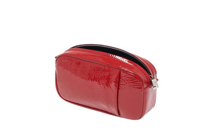Convertible Naplak Leather Bag Sportmax