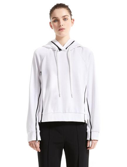 Jersey Double Hooded Sweatshirt